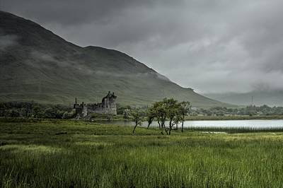 Highlands Castle Poster by Chris Whittle