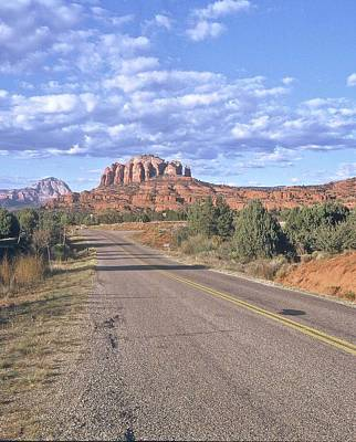 Poster featuring the photograph Highway To Sedona by Gary Wonning