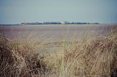 Hilbre Island Through The Grass Poster