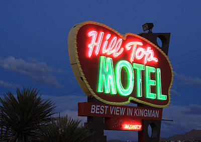 Hill Top Motel Poster