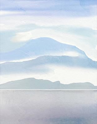 Hills In Borneo Poster