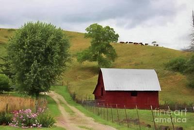 Hillside Farm Poster