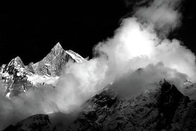Himalayan Mountain Peak Poster