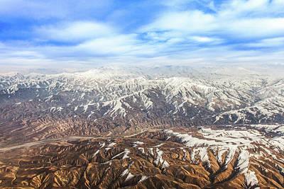 Hindu Kush Snowy Peaks Poster