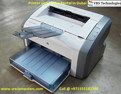 Hire A Printer - It Rentals Poster