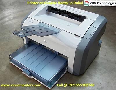 Hire A Printer - It Rentals Poster by Vrscomputers