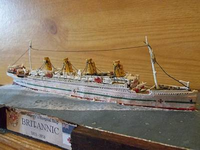 His Majesty's Hospital Ship Britannic Poster