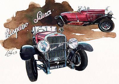 Hispano Suiza H6b  Poster by Yoshiharu Miyakawa