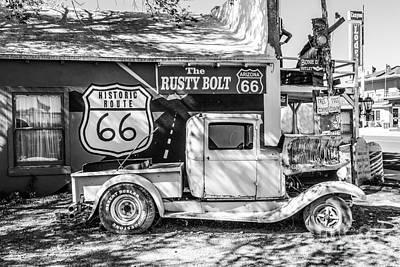 Historic 66  Roadside  Poster