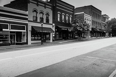 Poster featuring the photograph Historic Buford Downtown Area by Doug Camara