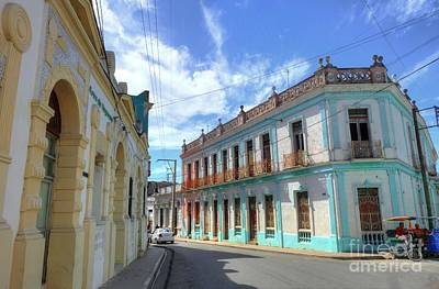 Historic Camaguey Cuba Prints 2 Poster by Wayne Moran