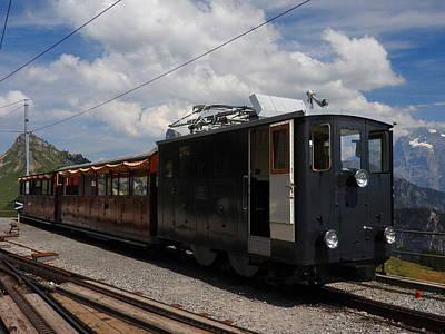 Historic Cogwheel Train  Poster