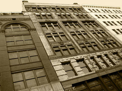 Historic Detroit Poster by Sheryl Burns