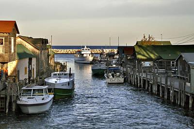 Historic Fishtown Docks Poster