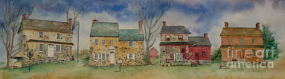Historic Homes Of Chadds Ford Poster