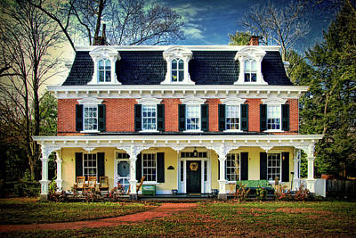 Historic Isaac Stover House  Poster