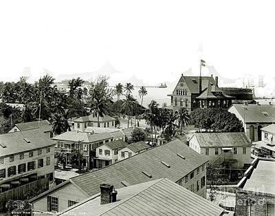 Historic Key West Poster by Jon Neidert
