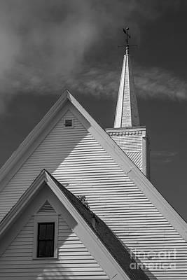 Historic Long River Church Avonlea Village Pei Poster by Edward Fielding