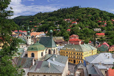 Historic Mining Town Banska Stiavnica, Slovakia Poster