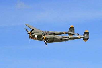 Historic P-38 Poster by Shoal Hollingsworth