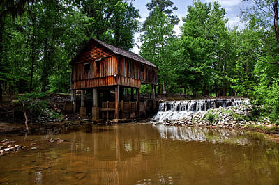 Historic Rikard's Mill - Alabama Poster by Mountain Dreams