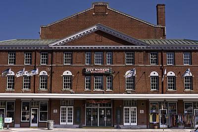 Historic Roanoke City Market Building Poster