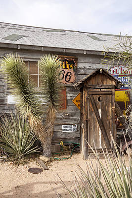Historic Route 66 - Outhouse 1 Poster