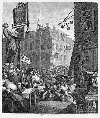 Hogarth: Beer Street Poster by Granger