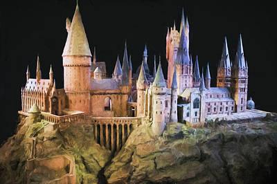 Hogwarts School Painting Poster