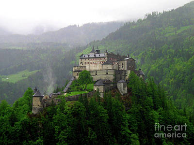 Hohenwerfen Castle Poster by Sheila Ping