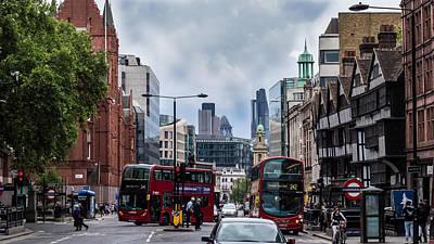 Holborn - London Poster