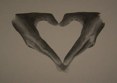 Holding Love Poster by Martijn Opsomer