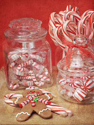 Holiday Goodies Poster by Vicki McLead