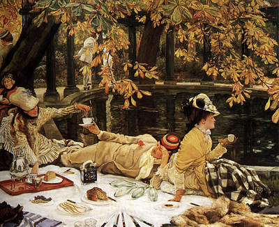 Holiday Poster by James Tissot