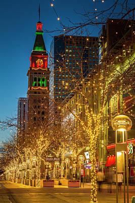 Holidays In Denver Colorado Poster by Teri Virbickis