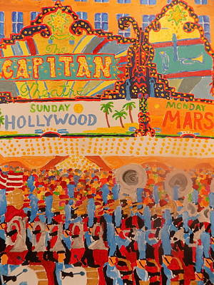 Hollywood Parade Poster by Rodger Ellingson