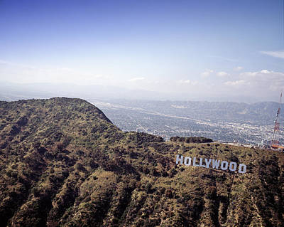 Hollywood Sign, Built Ca. 1923 By Mack Poster