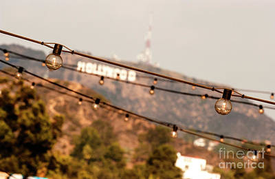 Poster featuring the photograph Hollywood Sign On The Hill 2 by Micah May