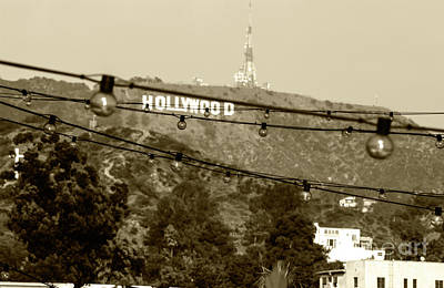 Poster featuring the photograph Hollywood Sign On The Hill 4 by Micah May