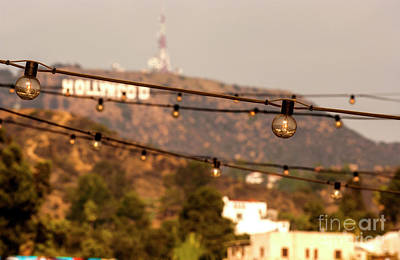 Poster featuring the photograph Hollywood Sign On The Hill 5 by Micah May