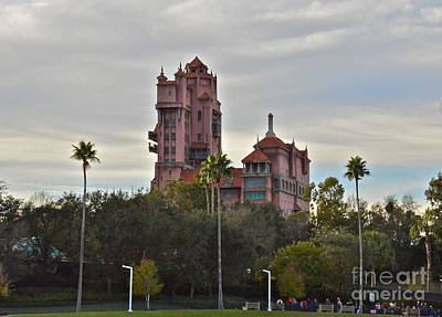 Hollywood Studios Tower Of Terror Poster