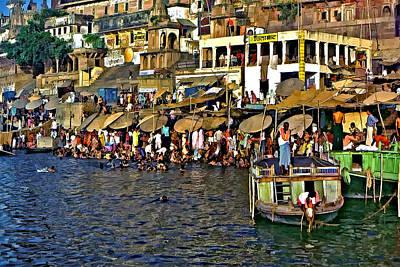 Holy Ganges Poster by Steve Harrington