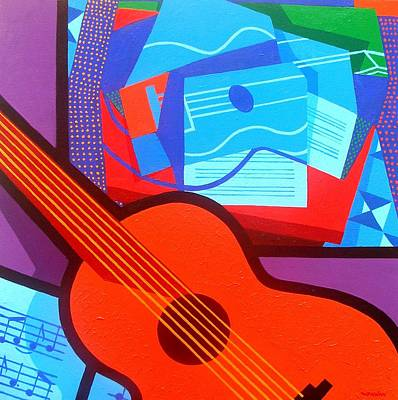 Homage To Juan Gris Poster by John  Nolan