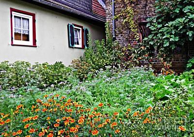 Home And Garden Schierstein 5 Poster by Sarah Loft