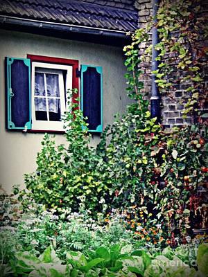 Home And Garden Schierstein 8   Poster by Sarah Loft