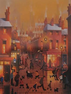 Home Before Dark Poster by Joe Gilronan