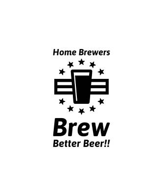 Home Brew Logo Range Poster