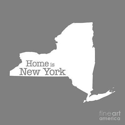 Home Is New York Poster by Bruce Stanfield
