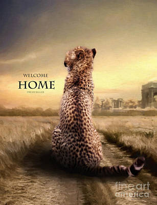 Poster featuring the photograph Home2 by Christine Sponchia
