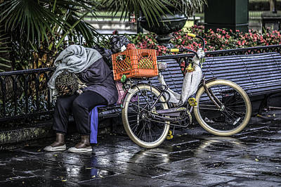 Homeless In New Orleans, Louisiana Poster